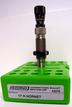 17 Hornet Competition Seating Die Redding Reloading